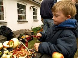barn ved æbleskrælder